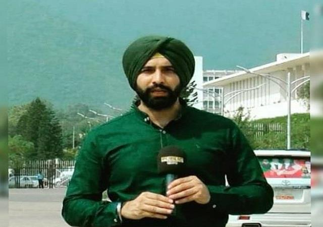 pak s first sikh anchor contemplates leaving the country after receiving threats