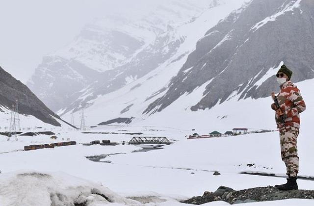 east ladakh  will not be afraid of the soldiers even in cold