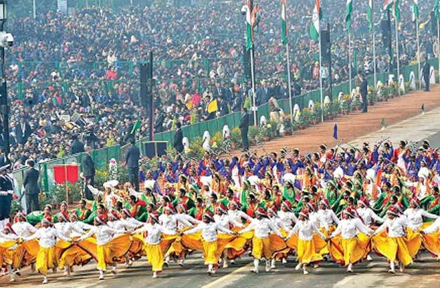 republic day 321 school children and 80 folk artists will join the parade