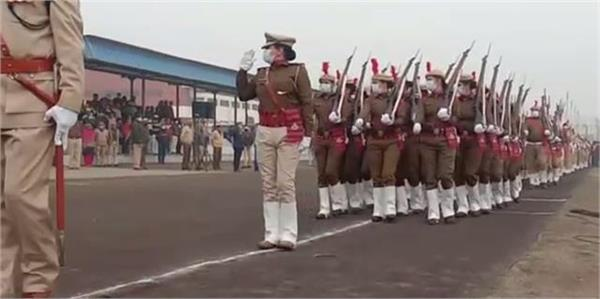 final rehearsal for republic day celebrations