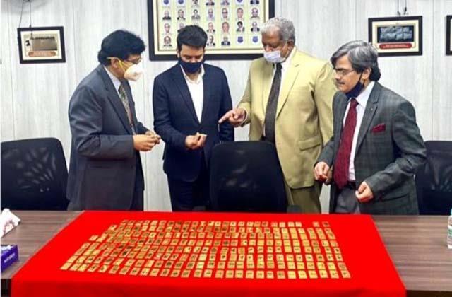 d r i caught 28 billion rupees gold