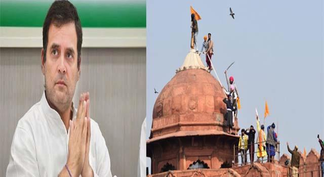 rahul gandhi farmers protest