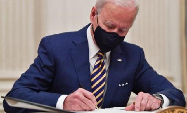 biden signs executive orders to boost economic relief for americans