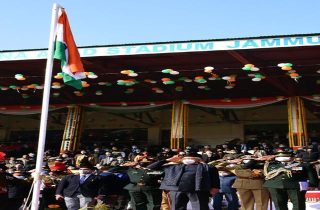 republic day celebrtaed in jammu kashmir amid high security