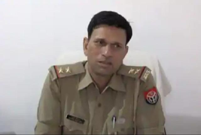 kanpur police again gritty sho injured in biker car was driving a stolen car