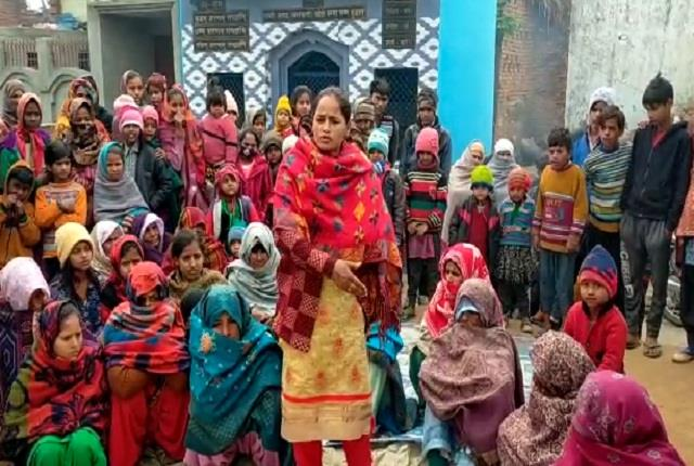 panchayat angry women due to lack of action on bullying severe on police