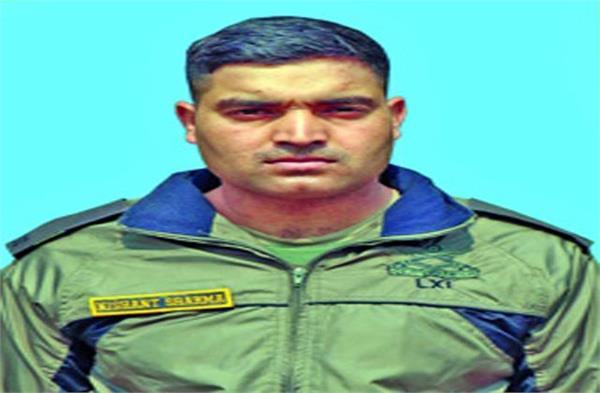 maryrs creamted in sharanpur death in mine blast jammu