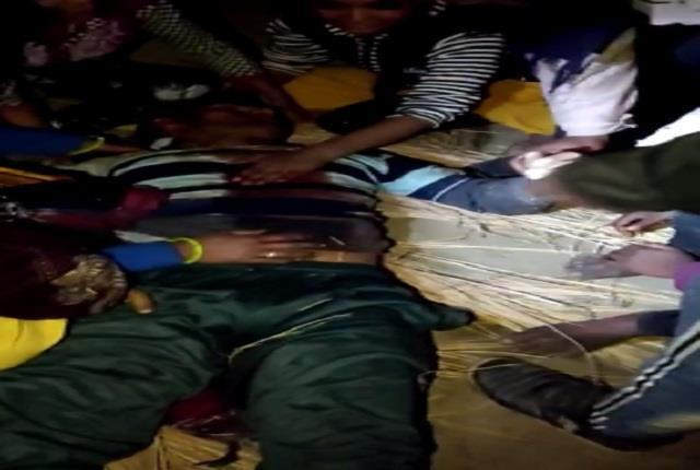 former pradhan s nephew shot dead by miscreants witness in uncle s murder