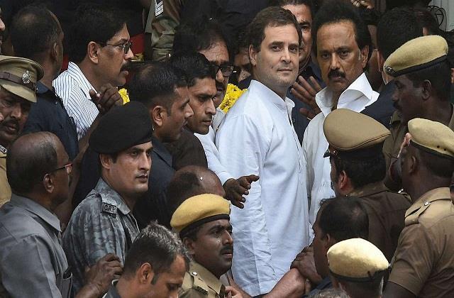rahul gandhi will go to tamil nadu on pongal