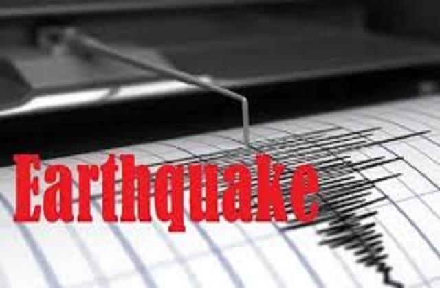 breaking news  chamba earthquake shocks again intensity 3 2