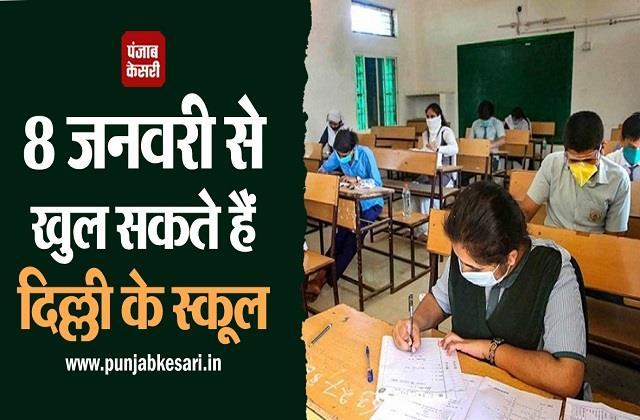 delhi school reopen kejriwal government