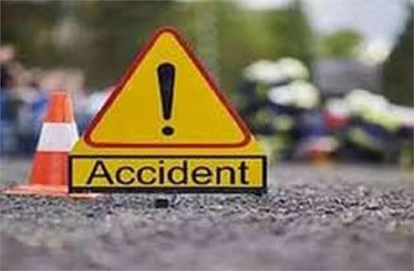 road accident taxi falls under broken bridge driver dies