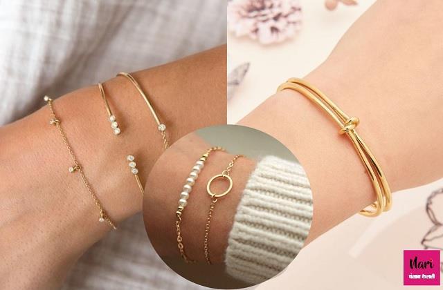 Fashion Trend: कलाई पर खूब जचेंगे सिंपल ब्रेसलेट, देखें लेटेस्ट डिजाइन्स