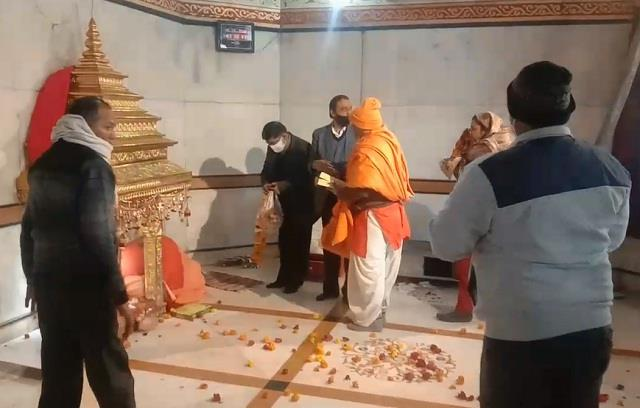 thieves steal the temple in panipat