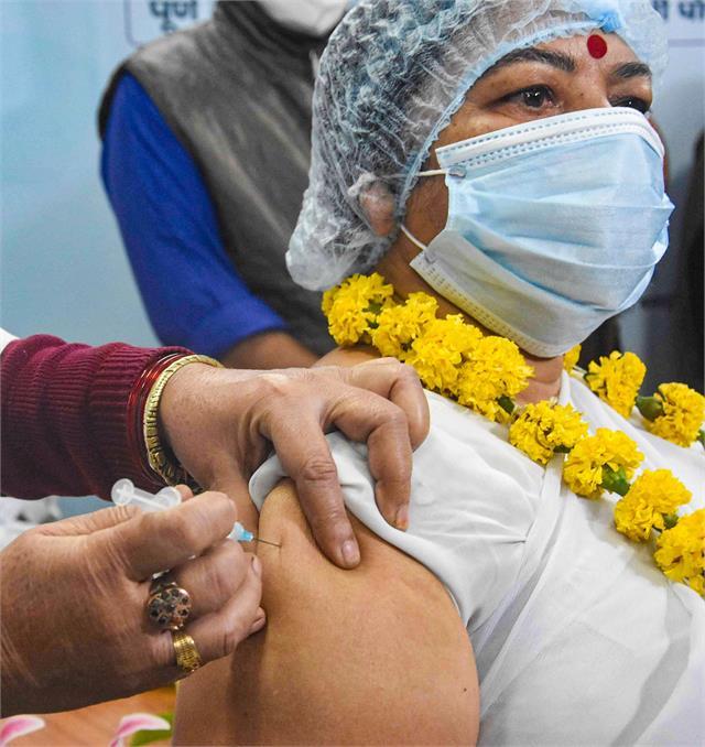 corona vaccination picture