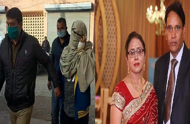 lawyer s wife was murdered suspicion illegal relations