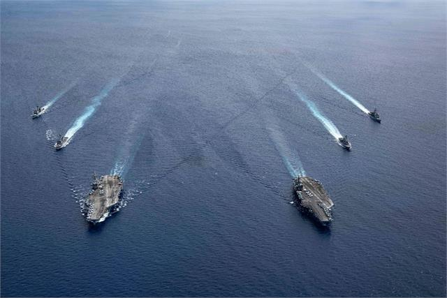 us to integrate maritime forces to counter chinese presence