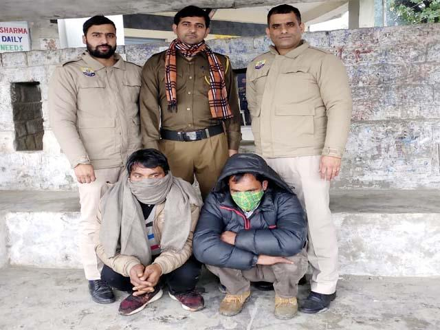 2 arrested with consignment of hashish