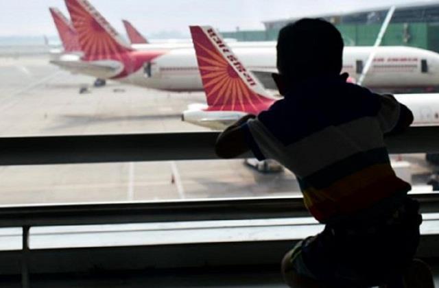 national news punjab kesari lucknow flight baby girl mumbai