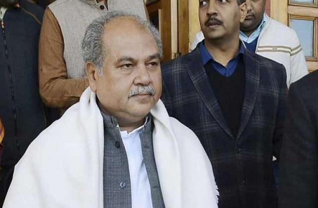 agriculture minister narendra singh tomar farms law