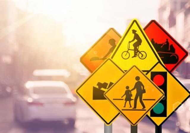 students will now read road safety and traffic lessons in schools