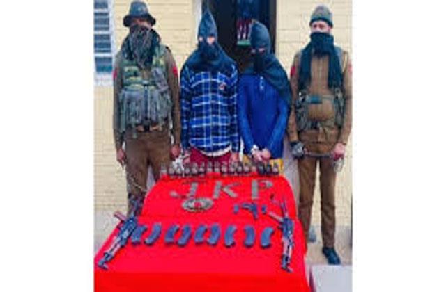 terrorist module busted in ramban