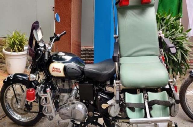 national news punjab kesari drdo crpf bike ambulance inmas