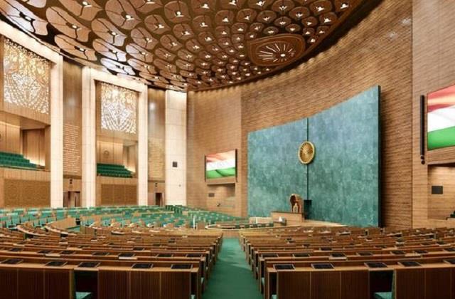 central vista project new parliament building