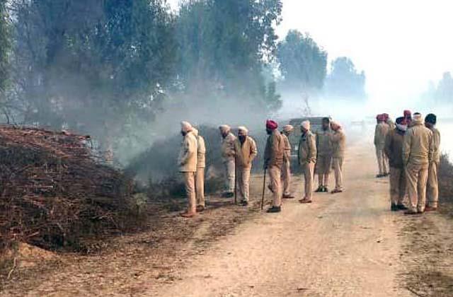 punjab and rajasthan police destroyed 10 thousand liters of lahan