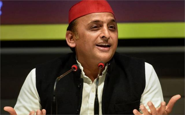 opposition wishes granted by the state foundation day akhilesh targetes bjp