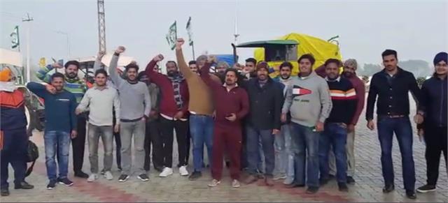 kisan agitation tractors from ambala leave for delhi parade