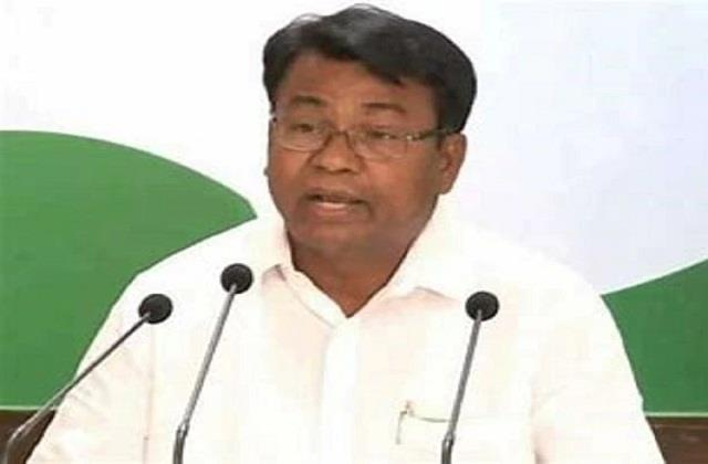 newly appointed incharge of congress said