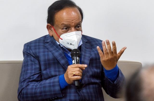 health minister dr harsh vardhan said  corona vaccine like sanjeevani