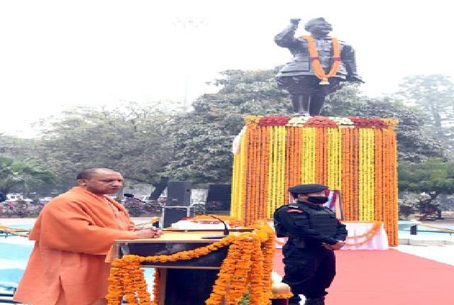 country will always remember netaji subhash chand bose s sacrifice yogi