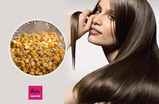 बालों पर लगाए चने की दाल से बना मास्क, दूर हो जाएगी झड़ते बालों की प्रॉब्लम