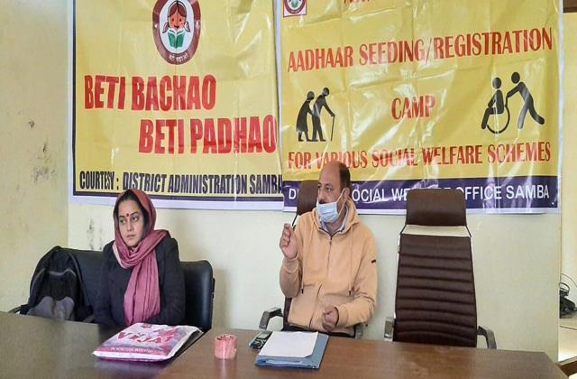 ddc member set up social welfare department awareness camp