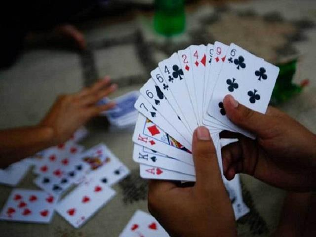during the raid only 18 thousand recovered from 10 gamblers