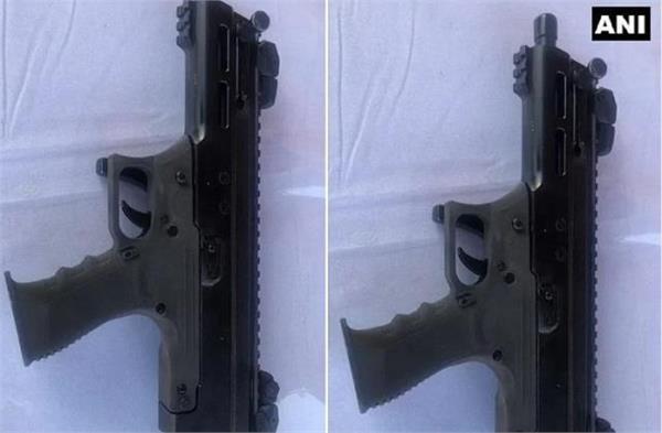 drdo built country s first machine pistol