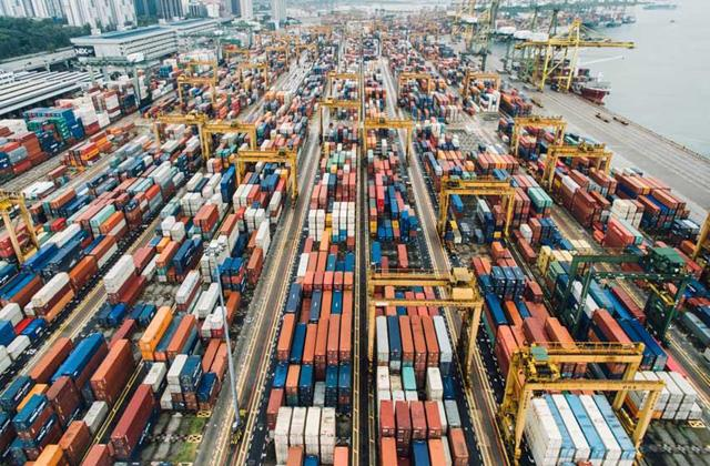freight traffic to major ports declined for the 9 consecutive month