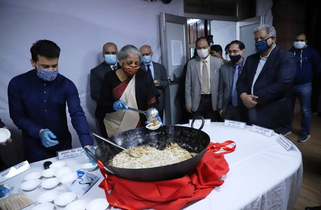 halwa ceremony organized budget will be paperless for the first time