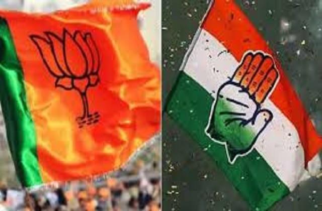 zilla parishad result bjp on 6 congress on 4 success