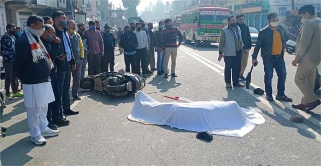ghumarwin tanker driver death
