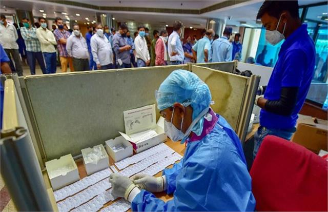 more than 2 5 crore tests of corona completed in up 10 lakh rtpcr test in kgmu