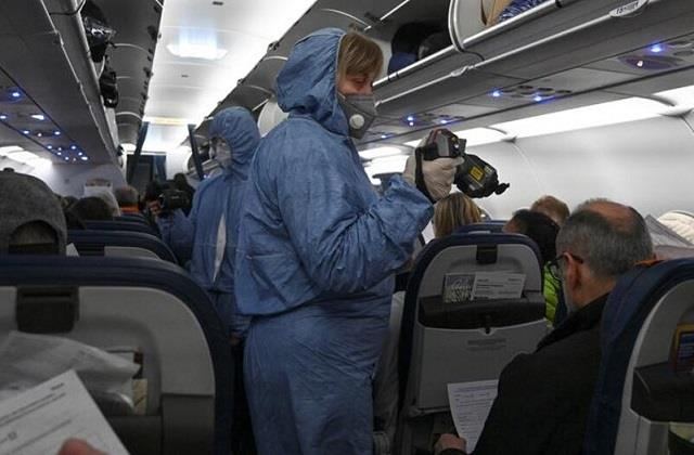 risk of infection with corona virus even during long distance air travel