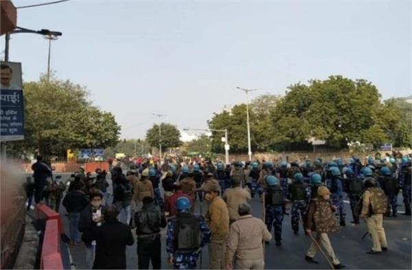 national news punjab kesari farmers protest delhi police