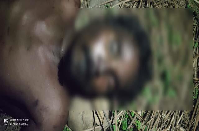 dead body of unidentified person found