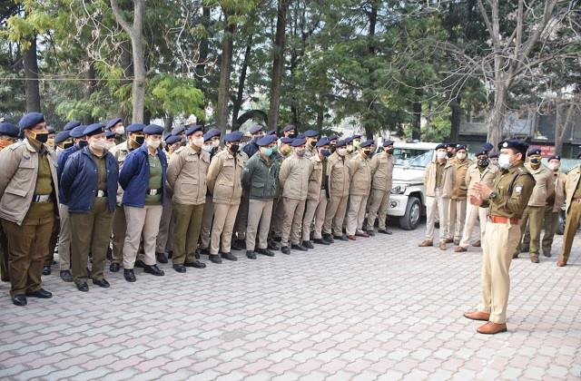 over 11 hundred police jawans to be deployed in 1388 polling stations