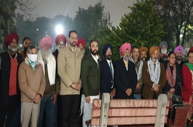 national news punjab kesari aap party jarnail singh harpal singh cheema