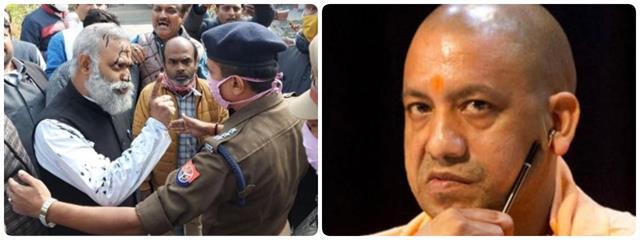 aap mla somnath bharti caught abusing cm yogi fir lodged