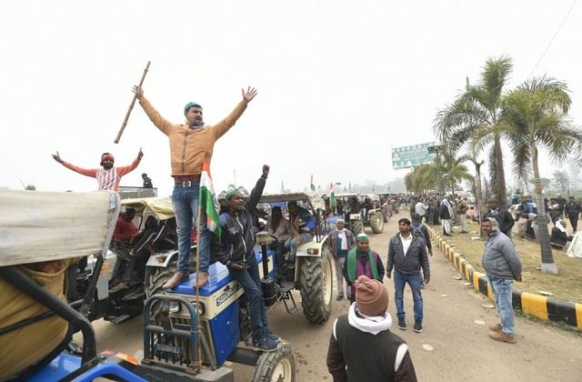 republic day tractor parade of farmers cleared by delhi police